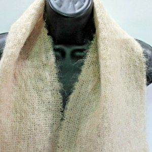 Lord Taylor Womens Scarf Neck Wrap Mohair Wool